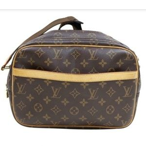 100% Auth Louis Vuitton Reporter PM Crossbody Bag